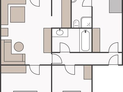 Skizze Casa Plana 5 Personen