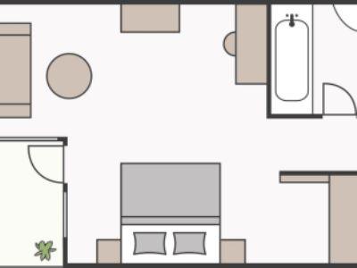 skizze-terrassenzimmer-edelweiss-alpenrose-schruns